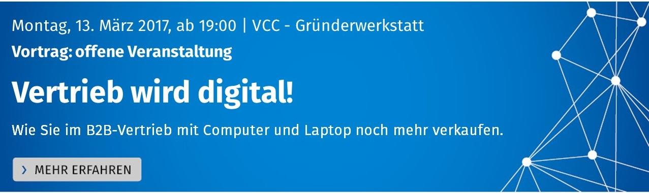 Banner Startseite Vortrag Vertrieb wird digital