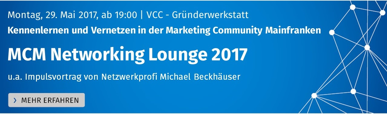 MCM Networking Lounge 2017