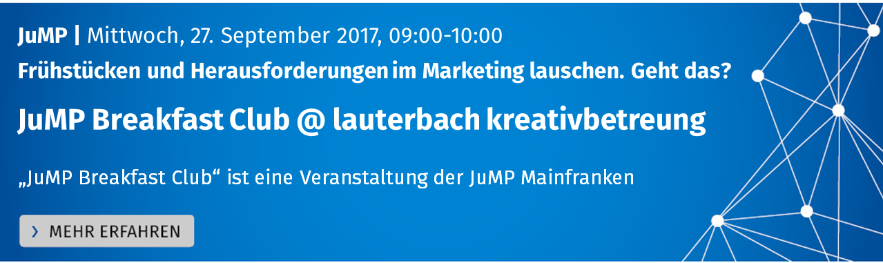 JuMP Breakfast Club @ lauterbach kreativbetreuung
