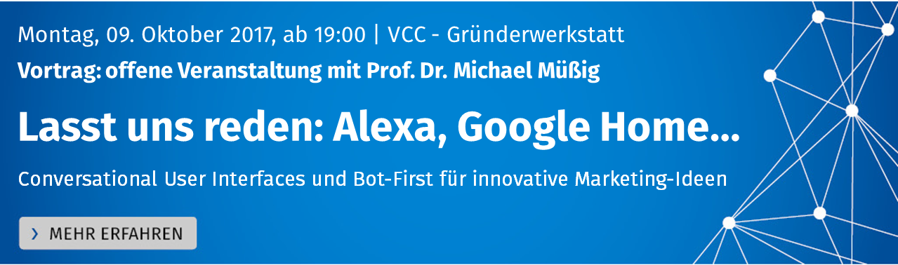 Lasst uns reden: Conversational User Interfaces und Bot-First