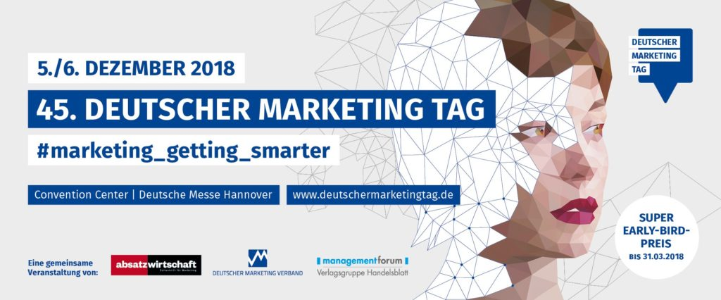 Deutscher Marketing Tag Super-Early-Bird-Preis bis 31.03.2018