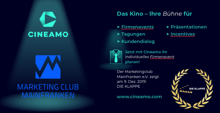 Cineamo Firmenevent Marketing-Club Mainfranken e.V.