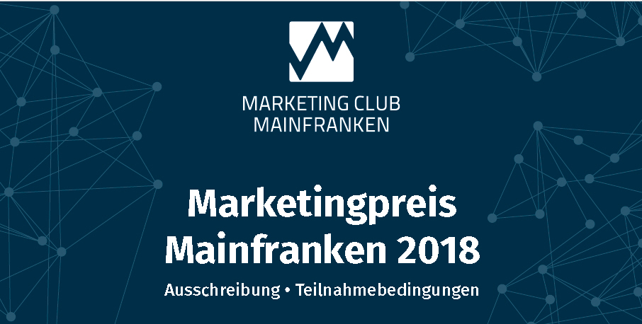 Header-Ausschreibung Marketingpreis Mainfranken 2018