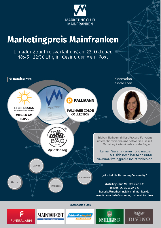 Marketingpreis Mainfranken 2018 Anzeige Wirtschaft in Mainfranken
